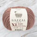 Gazzal Baby Cotton XL Baby Yarn, Light Brown - 3434XL
