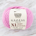 Gazzal Baby Cotton XL Baby Yarn, Pink - 3422XL