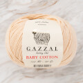 Gazzal Baby Cotton Baby Yarn, Beige - 3445