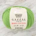 Gazzal Baby Cotton Baby Yarn, Green - 3448