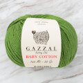 Gazzal Baby Cotton Baby Yarn, Green - 3449