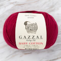 Gazzal Baby Cotton Baby Yarn, Claret - 3442