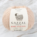 Gazzal Baby Cotton Baby Yarn, Nude - 3446