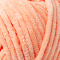 Kartopu Yumurcak Açık Turuncu Kadife Bebek Yünü - YMD0003