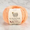 Gazzal Baby Cotton XL Baby Yarn, Pinkish Orange - 3412XL