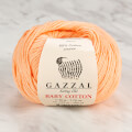 Gazzal Baby Cotton Knitting Yarn, Pink Orange - 3412