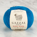 Gazzal Baby Wool Knitting Yarn, Blue - 822