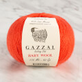 Gazzal Baby Wool Knitting Yarn, Red - 819