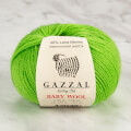 Gazzal Baby Wool Knitting Yarn, Green - 821