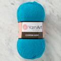 YarnArt Cotton Soft Knitting Yarn, Sky Blue - 55