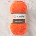 YarnArt Cotton Soft Knitting Yarn, Orange - 61