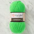 YarnArt Cotton Soft Knitting Yarn, Green - 60