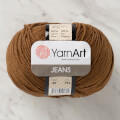 YarnArt Jeans Knitting Yarn, Brown - 40