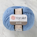 YarnArt Jeans Knitting Yarn, Blue - 15