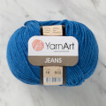 YarnArt Jeans Knitting Yarn, Blue - 16