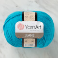 YarnArt Jeans Knitting Yarn, Blue - 55