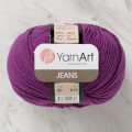 YarnArt Jeans Knitting Yarn, Purple - 50