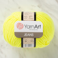 YarnArt Jeans Knitting Yarn, Yellow - 58
