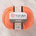 YarnArt Jeans Knitting Yarn, Orange - 23