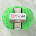 YarnArt Jeans Knitting Yarn, Green - 60