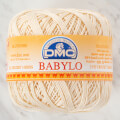 Dmc Babylo 50g Cotton crochet thread No:10, Ecru - Ecru