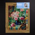 ORCHİDEA 30 x 40 cm Pembe Güller Baskılı Goblen 2899J