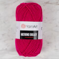 Yarnart  Merino Bulky Yarn, Fuchsia - 8041