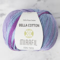 Mirafil Bella Cotton Büyülü Mor El Örgü İpi - 10