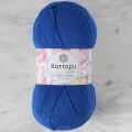 Kartopu Cotton Love Saks Mavi El Örgü İpi -K621