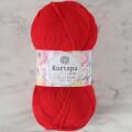 Kartopu Cotton Love Kırmızı El Örgü İpi -K143