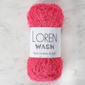 Loren Wash Fuşya El Örgü İpi - R100
