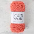 Loren Wash Turuncu El Örgü İpi - R097