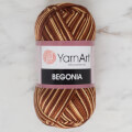 YarnArt Begonia Melange 50gr Ebruli El Örgü İpi - 0017