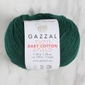 Gazzal Baby Cotton XL Koyu Yeşil Bebek Yünü - 3467