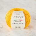 Etrofil Jeans Sarı El Örgü İpi - 006