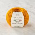 Etrofil Jeans Koyu Sarı El Örgü İpi - 45