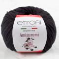 Etrofil Amigurumi Siyah El Örgü İpi - 70093