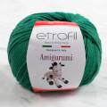 Etrofil Amigurumi Çimen Yeşil El Örgü İpi - 70429