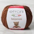 Etrofil Amigurumi Kahverengi El Örgü İpi - 70783