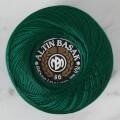 Altınbaşak No: 50 Yeşil Klasik Renkli Dantel İpliği - 009 - 26