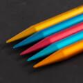 Addi Colibri 8mm 23cm Renkli Çorap Şişi - 204-7