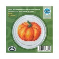 RTO Baltic 5.5 cm Embroidery Kit with Magnet Frame, Pumpkin - MGH01
