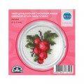 RTO Baltic 5.5 cm Embroidery Kit with Magnet Frame, Redcurrant - MGH05