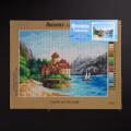 ORCHİDEA 30 x 40 cm Göldeki Kale Baskılı Goblen 2741J
