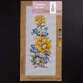 Orchidea 20x50cm Printed Gobelin, Bouquet of Wild Flowers - H19J
