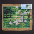 Orchidea 40x50cm Printed Gobelin, Therese Françoise Cotard-Dupre - Guiding the Geese - 2747M