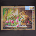 Orchidea 50x70cm Printed Gobelin, French School - Still Life of Flowers - 2778R