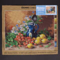 Orchidea 40x50cm Printed Gobelin, A Still Life with Lemons, Strawberries and Flowers - 2786M