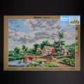 ORCHİDEA 50 x 70 cm Çiftlik Baskılı Goblen 2858R