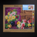 Orchidea 40x50cm Printed Gobelin, Olaf Hermansen - Still Life with Roses - 2861M